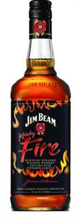 Jim Beam Bourbon Kentucky Fire 1.00l